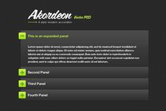 Stylish jQuery Accordion