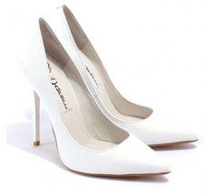 "Jeffrey Campbell ""Darling"" Heels in White - $180"