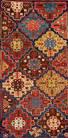 East Caucasian rug (detail), Caucasus, 19th century. From the Collection of…