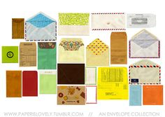 envelope collection.