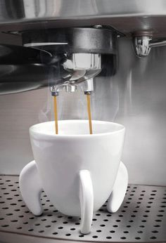 Rocket Ship Espresso Cup