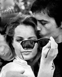 """1,302 Me gusta, 16 comentarios - Romy Schneider & Alain Delon (@romyalain) en Instagram: """"On the set of La Piscine, 1969"""""""