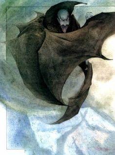 Я верю в фей! - Иллюстрации к Дракуле.