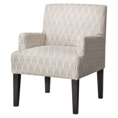Dolce Upholstered Accent Arm Chair - Gray