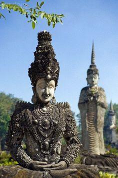 Sala Keoku Sculpture park - Thailand