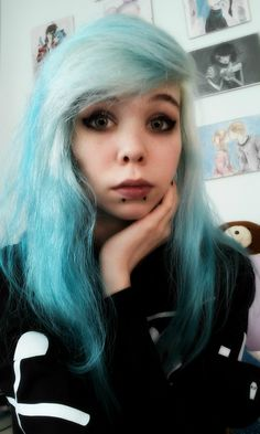 Ask me anything Ask Me Anything, Nanami, Best Youtubers, Pastel Goth, Me Me Me Anime, Queen, Long Hair Styles, Beauty, Black
