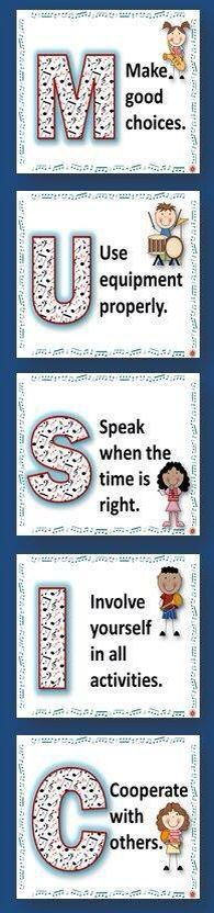 Music Classroom Behavior management Posters!  ♫ CLICK through to preview the set or save for later!   ♫