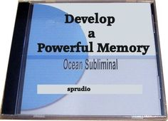 Develop a Powerful Memory Memory Enhancement Subliminal Cd Ocean Waves -- Details can be found by clicking on the image.