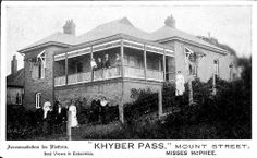 Khyber Pass, Mount Street, Katoomba, Blue Mountains    c1914 post card collection of Mary Ellen Freeman Woodman   	     	           	 	     	         	            c1914 post card collection of Mary Ell...