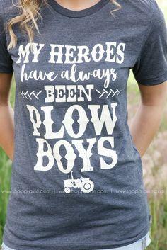 Plow Boys Tee