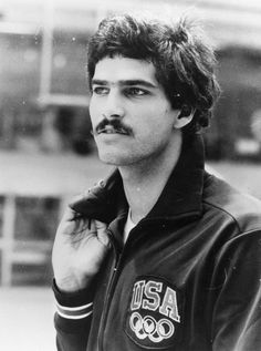 Mark Spitz: American swimmer Mark Spitz training for the 1972 Olympic Games in Munich, where he won a record seven gold medals, all in world record times. (Photo by A. B. Duffy/Keystone/Getty Images)