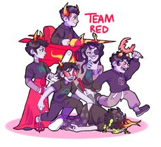 May I just say that the red team is the only team that stayed alive throughout the entire game