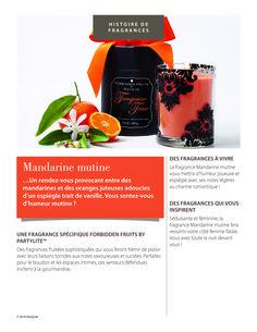 #fragrance #mandarine #mutine #forbiddenfruits #partylite www.partylite.fr