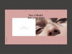HASH Models Platform Homepage Animation by Zhenya Rynzhuk Page Design, Book Design, Layout Design, Web Layout, Design Design, Flat Design, Website Design Inspiration, Graphic Design Inspiration, Minimal Web Design