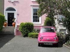 pink FIAT #fiat #saffordfiatfredericksburg #pink