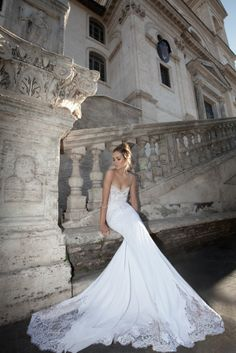 2012 Inbal Inbal Dror Wedding Dresses Prices - The Chef Ao Dai, Wedding Dresses 2014, Wedding Gowns, Lace Wedding, Wedding Bride, Mermaid Wedding, Princess Wedding, Party Dresses, Maternity Wedding