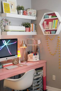 REVEAL: KB's Workspace Makeover #MichaelsMakers