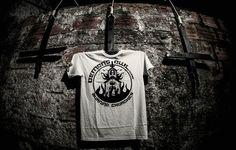 Image of  'Burning Churches' White T-Shirt