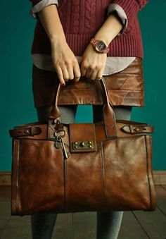 Fossil vintage leather goods
