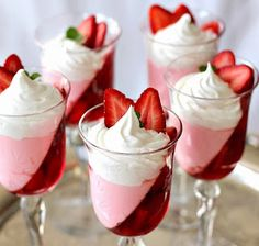 Jello Strawberry Parfait Recipe