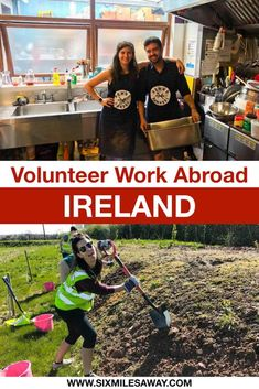 Volunteer Work in Ireland is one great way to travel cheaper. Not only will you be given free accommodation and food in return for your work, but also an authentic experience to remember. Check out the website Worldpackers to find your next host. Volunteer Services, Volunteer Work, Beach Clean Up, Work Opportunities, Work Abroad, Responsible Travel, Ways To Travel, Cheap Travel, Get Healthy