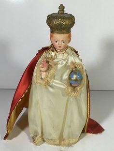 Antique Porcelain Madonna Mary Religious Figure Spiritual Figurine Holy Statue | eBay