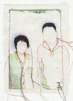 Rita Zepf, textil kunst.