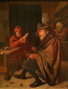 De eenzame drinker, 1660
