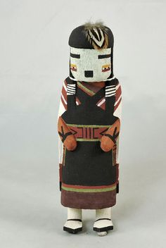 Traditional Hopi Kachina is carved by Eric Kayquaptewa of Hotevilla, Third Mesa.