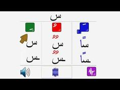 (2/4) Tanuine arabic letters, Tanouine des lettres arabes, التنوين - YouTube