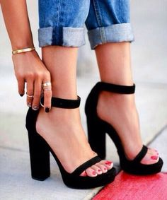 A summer wedge sandal