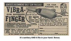 A vibrating finger for... your teeth???