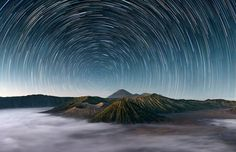 Mt Bromo Under The Stars by Elia Locardi on 500px