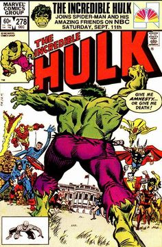 Incredible Hulk 278-Sal Buscema & Al Milgrom
