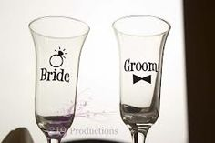 wedding glasses - Google Search
