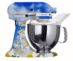 http://www.truekustom.com/2011/05/custom-painted-kitchen-aid-mixer/
