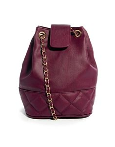 Image 1 ofASOS Quilted Duffle Bag