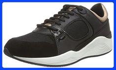 Geox Women, Sneaker, D Omaya A, Black (Negro (Black)), 6