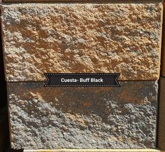 Cuesta Retaining wall Block in Tan & Brown color. They are wide, tall, and deep. Check out our website or for pricing info call us @ We are located in Dacono, Co. and are a family owned and operated business. Concrete Block Paving, Paving Stones, Deep, Website, Check, Wall, Business, Brown, Color