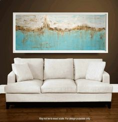 """Wall Art  Painting 72"""" x30""""    abstract  painting Acrylic painting Wall Decor wall hanging from   Jolina Anthony"""