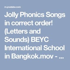 Phonics Books Jolly Phonics And Initial Sounds On Pinterest