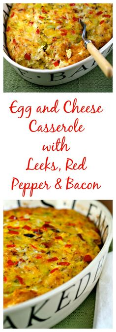 A winning breakfast casserole (or perfect breakfast for supper!) from The Perfect Pantry. #glutenfree