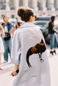 Paris Fashion Week SS 2014....Natalia