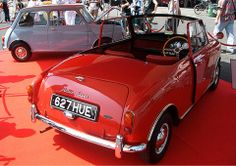 Mini No.2 (chassis No. 102) bought new by Donald Healey , who with the blessing of BMC , converted it into this 2 seater convertible