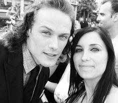 MONTE CARLO. LQ/MQ pics of Sam Heughan at The Monte Carlo Festival | Outlander Online
