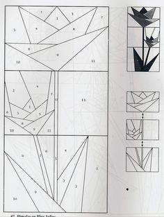 Patchwork pattern.ideal para un cuadro