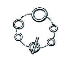 Christofle Coll 925 Chain Bracelet in Christofle Jewelry Andree Putman, Love Hat, Bangles, Bracelets, Sterling Silver Jewelry, Gifts For Her, Personalized Items, Chain, Mothers