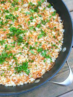 Lebanese Rice Pilaf - The Lemon Bowl
