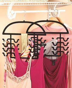 Set of 2 Nonslip Specialty Hangers