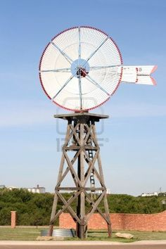 Old fashioned wind mill